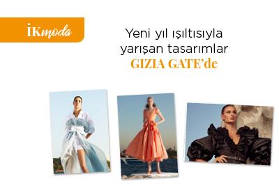 Yeni yıl ışıltısıyla yarışan tasarımlar GIZIA GATE'de