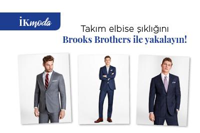 Takım elbise şıklığını Brooks Brothers ile yakalayın!