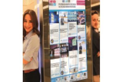 Huzurlarınızda CAMPAIGNWALL®... İki kuzenin dayanışması: Dijital ve Sosyal bir kampanya duvarı yarattı!
