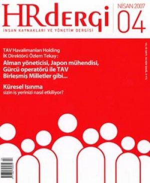 hr dergi Nisan 2007 sayısı