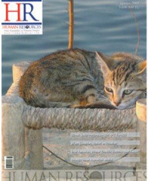 hr dergi Ağustos 2003 sayısı