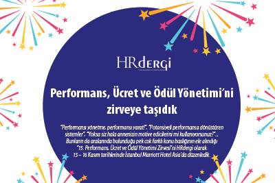 Performans, Ücret ve Ödül Yönetimi'ni zirveye taşıdık